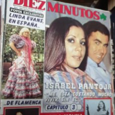 Collectionnisme de Magazine Diez Minutos: REVISTA DÍEZ MINUTOS AÑO 1987 NÚMERO EL SUMARIO FOTOGRAFIADO. Lote 217879323
