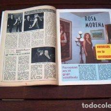 Coleccionismo de Revista Diez Minutos: DIEZ MINUTOS / ROSA MORENA, FRANCO NERO, MARY FRANCIS, JANE BIRKIN, IRENE MIR. Lote 218027366