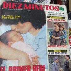 Coleccionismo de Revista Diez Minutos: REVISTA DÍEZ MINUTOS AÑO 1984 EL SUMARIO FOTOGRAFIADO. Lote 218091308