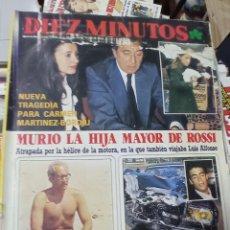 Coleccionismo de Revista Diez Minutos: REVISTA DÍEZ MINUTOS AÑO 1984 EL SUMARIO FOTOGRAFIADO. Lote 218092093