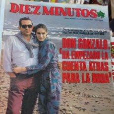 Coleccionismo de Revista Diez Minutos: REVISTA DÍEZ MINUTOS AÑO 1984 EL SUMARIO FOTOGRAFIADO. Lote 218092343