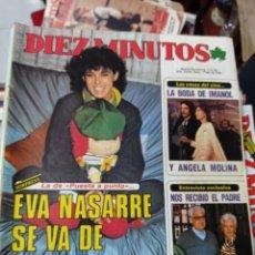 Coleccionismo de Revista Diez Minutos: REVISTA DÍEZ MINUTOS AÑO 1984 EL SUMARIO FOTOGRAFIADO. Lote 218092426
