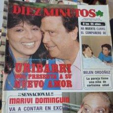 Coleccionismo de Revista Diez Minutos: REVISTA DÍEZ MINUTOS AÑO 1984 EL SUMARIO FOTOGRAFIADO. Lote 218092723