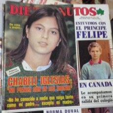Coleccionismo de Revista Diez Minutos: REVISTA DÍEZ MINUTOS AÑO 1984 EL SUMARIO FOTOGRAFIADO. Lote 218093173