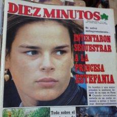 Coleccionismo de Revista Diez Minutos: REVISTA DÍEZ MINUTOS AÑO 1984 EL SUMARIO FOTOGRAFIADO. Lote 218093228