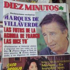 Coleccionismo de Revista Diez Minutos: REVISTA DÍEZ MINUTOS AÑO 1984 EL SUMARIO FOTOGRAFIADO. Lote 218093275