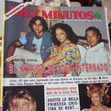 Coleccionismo de Revista Diez Minutos: REVISTA DÍEZ MINUTOS AÑO 1984 EL SUMARIO FOTOGRAFIADO. Lote 218093420