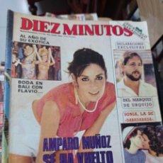 Coleccionismo de Revista Diez Minutos: REVISTA DÍEZ MINUTOS AÑO 1984 EL SUMARIO FOTOGRAFIADO. Lote 218093512