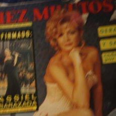 Coleccionismo de Revista Diez Minutos: LORETA TOVAR LOS PAYASOS DE LA TELE SARA MONTIEL UN DOS TRES MASSIEL 1977 DIEZ MINUTOS. Lote 218107808