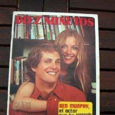 Coleccionismo de Revista Diez Minutos: DIEZ MINUTOS / BEN MURPHY, PAQUITA RICO, DUQUES DE CADIZ, WILMA READING, DUQUES DE CADIZ. Lote 218113996