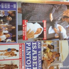 Collectionnisme de Magazine Diez Minutos: REVISTA DÍEZ MINUTOS AÑO 1988 EL SUMARIO FOTOGRAFIADO. Lote 218491167