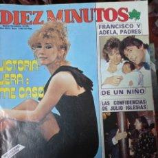 Collectionnisme de Magazine Diez Minutos: REVISTA DÍEZ MINUTOS AÑO 1985 EL SUMARIO FOTOGRAFIADO. Lote 218687161