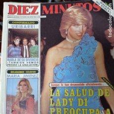 Coleccionismo de Revista Diez Minutos: REVISTA DÍEZ MINUTOS AÑO 1982 EL SUMARIO FOTOGRAFIADO. Lote 218734511