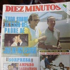Coleccionismo de Revista Diez Minutos: REVISTA DÍEZ MINUTOS AÑO 1982 EL SUMARIO FOTOGRAFIADO. Lote 218734588