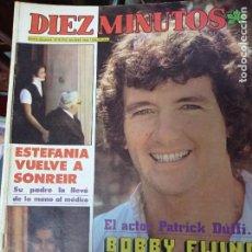 Coleccionismo de Revista Diez Minutos: REVISTA DÍEZ MINUTOS AÑO 1982 EL SUMARIO FOTOGRAFIADO. Lote 218734612