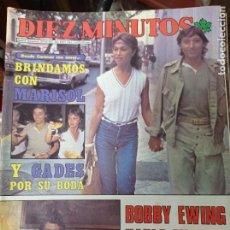 Coleccionismo de Revista Diez Minutos: REVISTA DÍEZ MINUTOS AÑO 1982 EL SUMARIO FOTOGRAFIADO. Lote 218734628