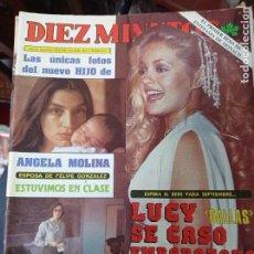 Coleccionismo de Revista Diez Minutos: REVISTA DÍEZ MINUTOS AÑO 1982 EL SUMARIO FOTOGRAFIADO. Lote 218734660