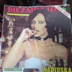 Coleccionismo de Revista Diez Minutos: REVISTA DÍEZ MINUTOS AÑO 1982 EL SUMARIO FOTOGRAFIADO. Lote 218734740