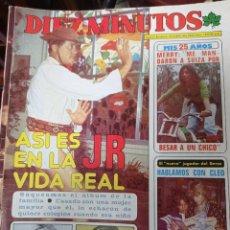Coleccionismo de Revista Diez Minutos: REVISTA DÍEZ MINUTOS AÑO 1982 EL SUMARIO FOTOGRAFIADO. Lote 218734787