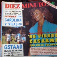 Coleccionismo de Revista Diez Minutos: REVISTA DÍEZ MINUTOS AÑO 1982 EL SUMARIO FOTOGRAFIADO. Lote 218735283