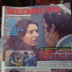 Coleccionismo de Revista Diez Minutos: REVISTA DÍEZ MINUTOS AÑO 1982 EL SUMARIO FOTOGRAFIADO. Lote 218735686