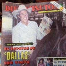 Coleccionismo de Revista Diez Minutos: REVISTA DÍEZ MINUTOS AÑO 1982 EL SUMARIO FOTOGRAFIADO. Lote 218735737