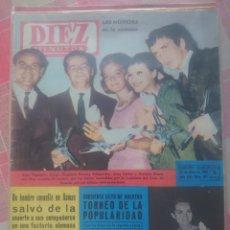 Coleccionismo de Revista Diez Minutos: ROMY SCHNEIDER REVISTA DIEZ MINUTOS JULIO 1963.... Lote 218961318
