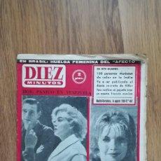Coleccionismo de Revista Diez Minutos: REVISTA DIEZ MINUTOS 14 AGOSTO 1960 Nº 468. Lote 219287585
