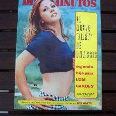 Coleccionismo de Revista Diez Minutos: DIEZ MINUTOS / NINO BRAVO, GIGLIOLA CINQUETTI, EUROVISION, ANTONIO CASAL, MARIBEL HIDALGO. Lote 219305361