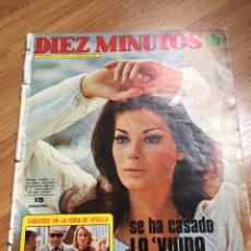 Coleccionismo de Revista Diez Minutos: DIEZ MINUTOS 1134 - 1973. Lote 220632771