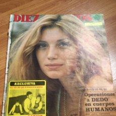 Coleccionismo de Revista Diez Minutos: DIEZ MINUTOS - 1221 - 1975 - ÁNGELA MOLINA. Lote 220633093