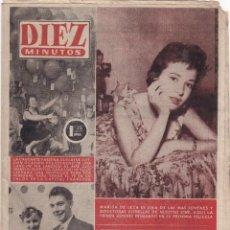 Coleccionismo de Revista Diez Minutos: REVISTA DIEZ MINUTOS Nº - 220 --- 13 - DE NOVIEMBRE 1955. Lote 221903548