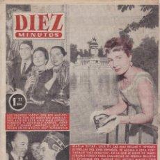 Coleccionismo de Revista Diez Minutos: REVISTA DIEZ MINUTOS Nº - 221 --- 20 - DE - NOVIEMBRE 1955. Lote 221903726