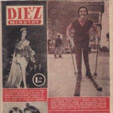 Coleccionismo de Revista Diez Minutos: REVISTA DIEZ MINUTOS Nº - 223 --- 4 -DICIEMBRE 1955. Lote 221903953