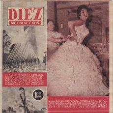 Coleccionismo de Revista Diez Minutos: REVISTA DIEZ MINUTOS Nº - 224 --- 11 -DICIEMBRE 1955. Lote 221904053