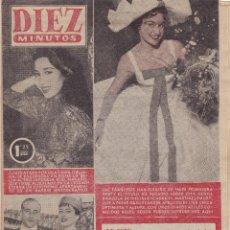 Coleccionismo de Revista Diez Minutos: REVISTA DIEZ MINUTOS Nº - 243 --- 22 -- ABRIL 1956. Lote 221906343