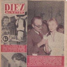 Coleccionismo de Revista Diez Minutos: REVISTA DIEZ MINUTOS Nº - 244 --- 29 -- ABRIL 1956. Lote 221906768