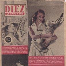 Coleccionismo de Revista Diez Minutos: REVISTA DIEZ MINUTOS Nº - 245 --- 6 -- MAYO 1956. Lote 221906833