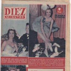 Coleccionismo de Revista Diez Minutos: REVISTA DIEZ MINUTOS Nº - 246 ---13 -- MAYO 1956. Lote 221906915