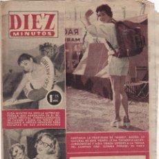 Coleccionismo de Revista Diez Minutos: REVISTA DIEZ MINUTOS Nº - 248 --- 27 -- MAYO 1956. Lote 221907023