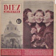 Coleccionismo de Revista Diez Minutos: REVISTA DIEZ MINUTOS Nº - 247 --- 20 -- MAYO 1956. Lote 221907142