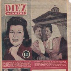 Coleccionismo de Revista Diez Minutos: REVISTA DIEZ MINUTOS Nº - 249 --- 3 -- JUNIO 1956. Lote 221907655