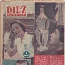 Coleccionismo de Revista Diez Minutos: REVISTA DIEZ MINUTOS Nº - 257 --- 29 -- JULIO 1956. Lote 221907761