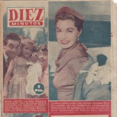 Coleccionismo de Revista Diez Minutos: REVISTA DIEZ MINUTOS Nº - 258 -- 5 -- AGOSTO 1956. Lote 221907818