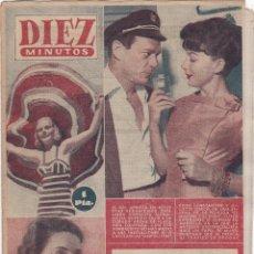 Coleccionismo de Revista Diez Minutos: REVISTA DIEZ MINUTOS Nº - 259 -- 12 -- AGOSTO 1956. Lote 221907855