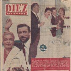 Coleccionismo de Revista Diez Minutos: REVISTA DIEZ MINUTOS Nº - 260 -- 19 -- AGOSTO 1956. Lote 221907915