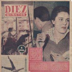 Coleccionismo de Revista Diez Minutos: REVISTA DIEZ MINUTOS Nº - 261 -- 26-- AGOSTO 1956. Lote 221907973