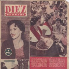 Coleccionismo de Revista Diez Minutos: REVISTA DIEZ MINUTOS Nº - 263 -- 9 - SEPTIEMBRE 1956. Lote 221908043