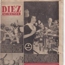 Coleccionismo de Revista Diez Minutos: REVISTA DIEZ MINUTOS Nº - 276 -- 9 -- DICIEMBRE 1956. Lote 221908258