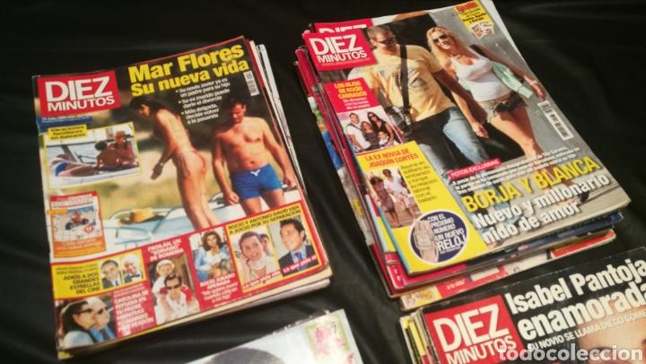 Coleccionismo de Revista Diez Minutos: LOTE DE 40 REVISTAS , DIEZ MINUTOS ( 33 ) PRONTO ( 5 ) ¡QUÉ ME DICES! ( 2 ) - Foto 2 - 222394176